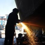 Shipyard welder