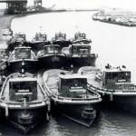 Vintage GLT tugs in Lorain
