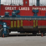 Great Lakes Shipyard Travelift 7-11