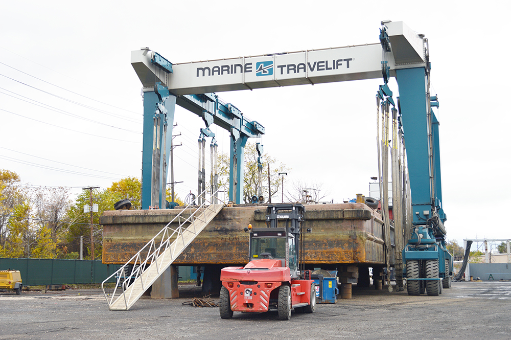Great Lakes Shipyard Completes Drydocking for Ryba Marine
