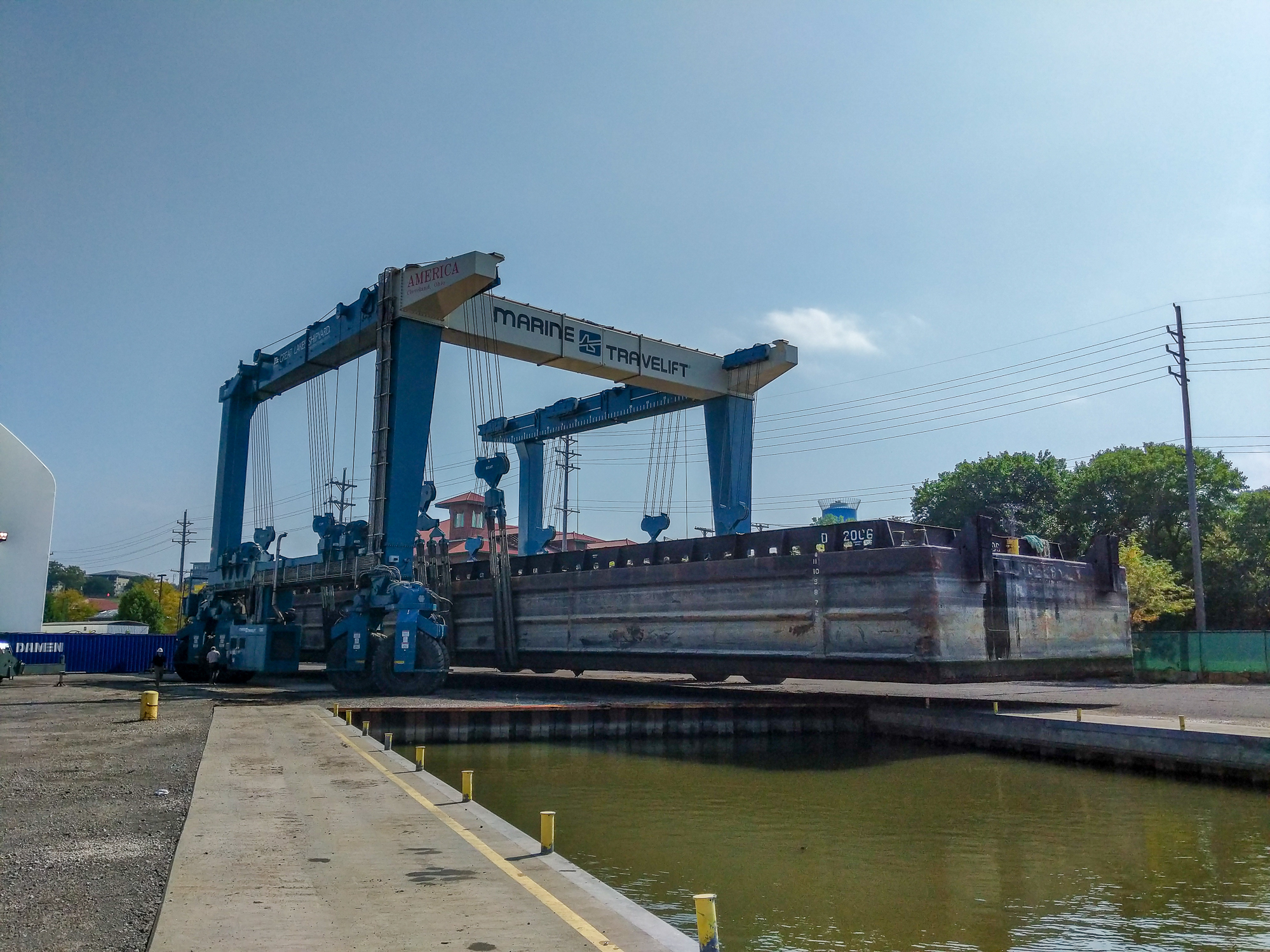 Durocher Marine Barges Drydock, Inspection, Repair » Great Lakes