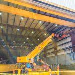 shipyard crane 10 ton