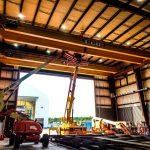 EMH install crane